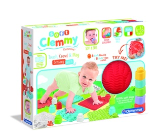 Žaislinis sensorinis kilimas kūdikiui Clemmy 17352