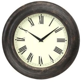 Platinet  Glow Wall Clock Black