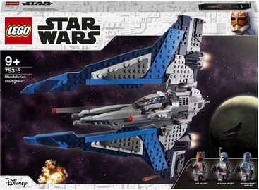 Конструктор LEGO Star Wars™ Звездный истребитель мандалорцев 75316, 544 шт.