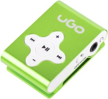 Музыкальный проигрыватель Natec UGO UMP-1024, зеленый, - ГБ