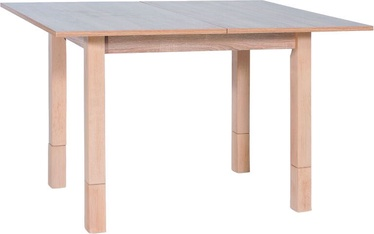 Обеденный стол Signal Meble Modern Iza, дубовый, 620x910x600мм