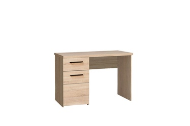Rašomasis stalas, su stalčiais ir spintele, 110 x 76,3 x 60 cm