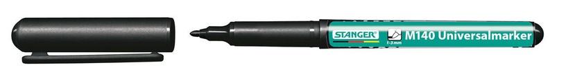 Noturīgs marķieris Stanger M140 Universalmarker Permanent Marker 1mm 10pcs Black 710070