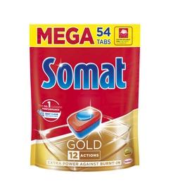 Indaplovių kapsulės Somat Gold, 54 vnt.