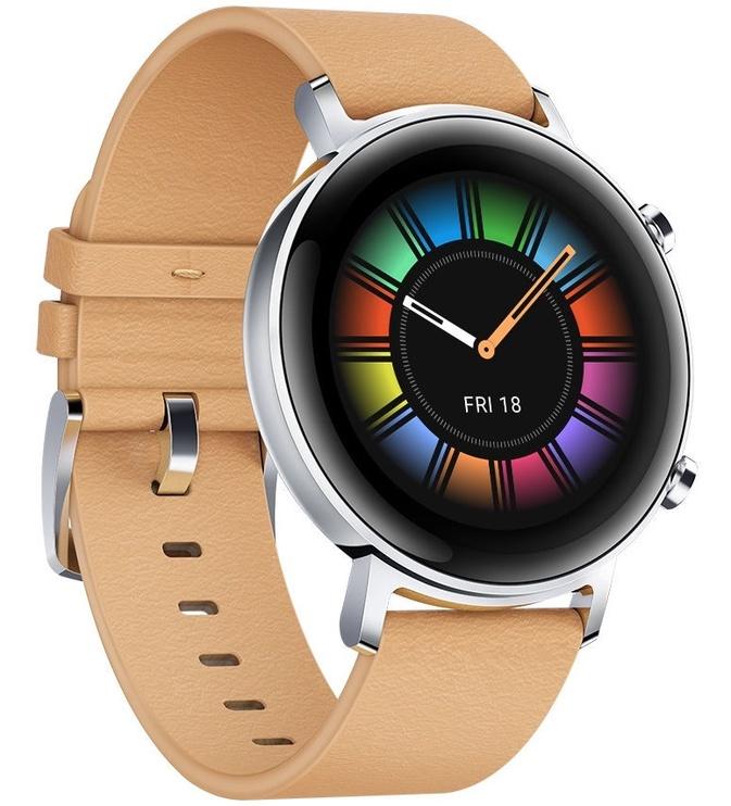 Išmanusis laikrodis Huawei Watch GT 2 42mm Gravel Beige