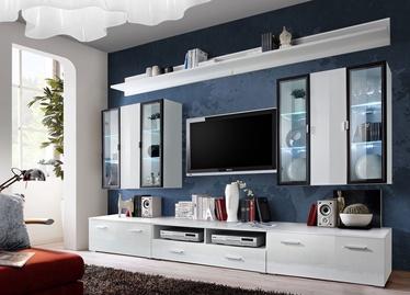 Dzīvojamās istabas mēbeļu komplekts ASM Iceland White
