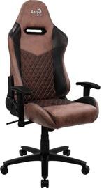 Игровое кресло AeroCool Duke Punch Red, коричневый/бордо