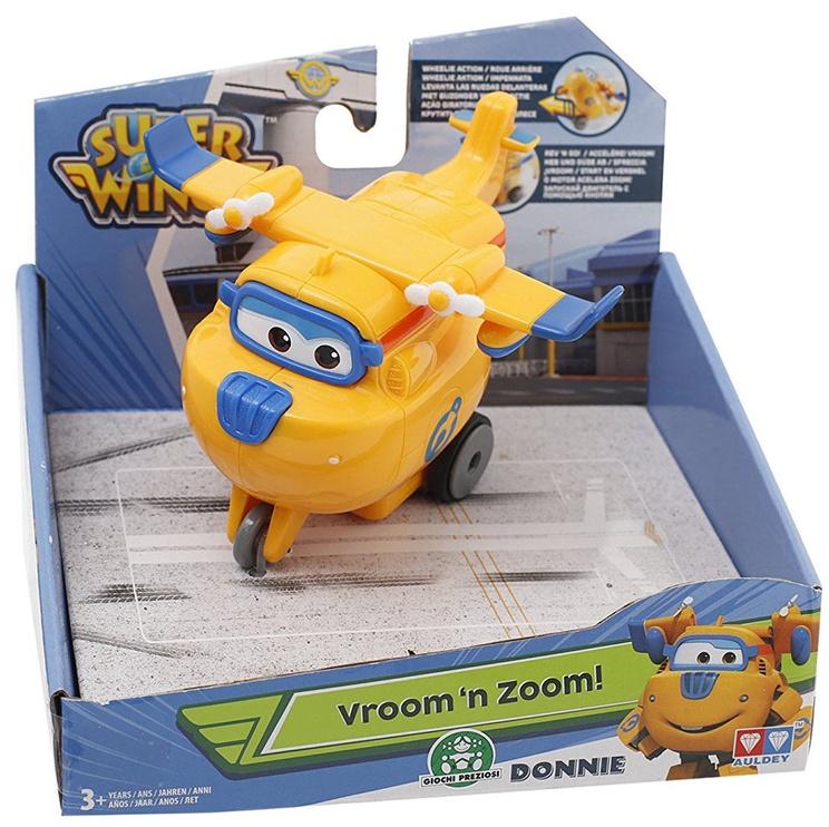 Auldey Super Wings Vroom 'n Zoom Donnie