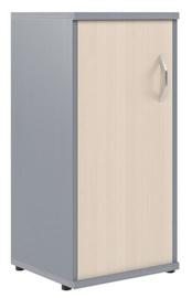 Skyland Imago Office Cabinet SU-3.1 Left Maple/Metallic