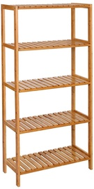 Plaukts Songmics Storage Rack Bamboo, 60x26x130,cm