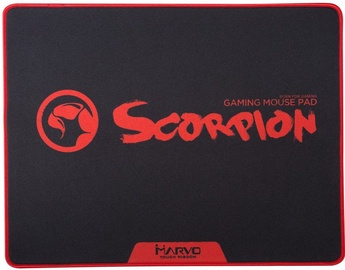 Marvo G18 Gaming Mouse Pad Black Red