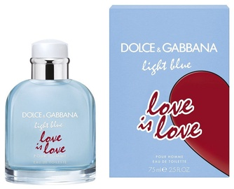 Tualetes ūdens Dolce & Gabbana Light Blue Love Is Love 75ml EDT
