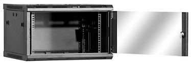 Netrack Wall Cabinet 19'' 4.5U/240 mm Glass Graphite