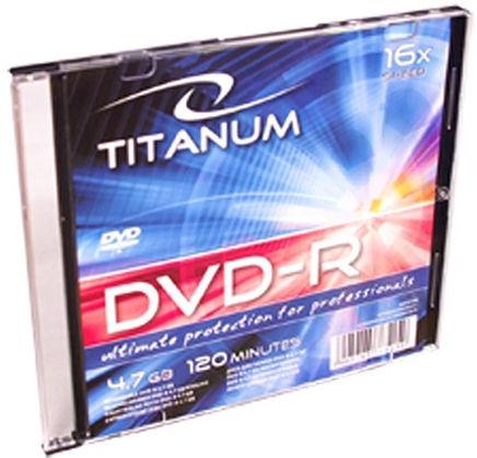 Esperanza 1285 Titanum DVD-R 16x 4.7GB Slim Jewel Case 200pcs