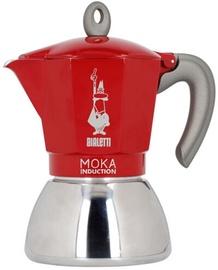 Bialetti Moka Induction Coffee Maker Red 2 Cups