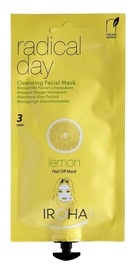 Iroha Nature Peel-Off Cleansing Creamy Facial Mask Radical Day 25ml Lemon