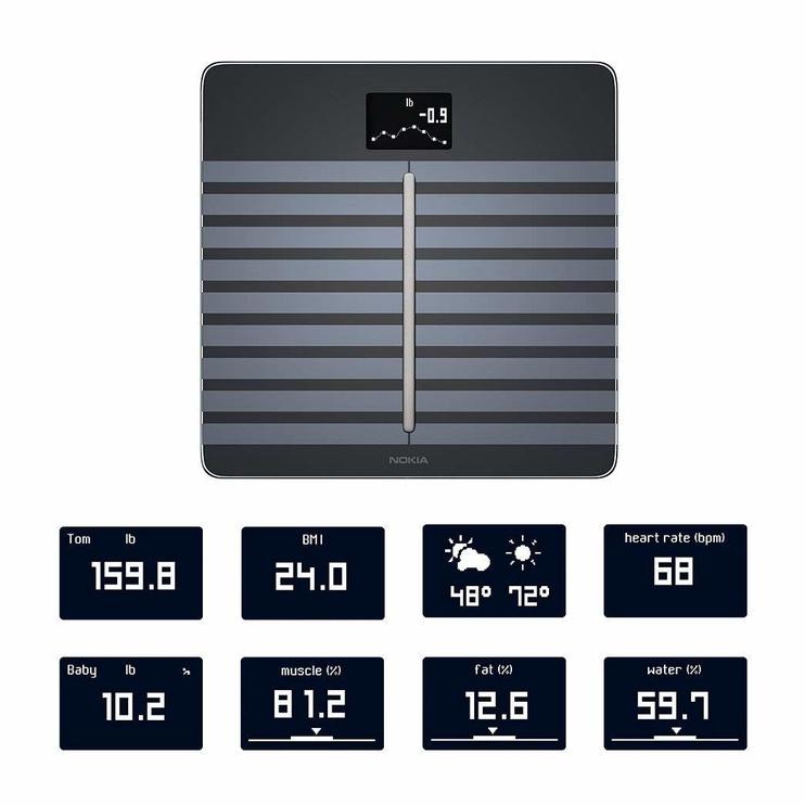 Весы Nokia Body Cardio Black
