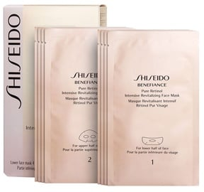 Маска для лица Shiseido Benefiance Pure Retinol Intensive Revitalizing Face Mask, 4 + 4 шт.