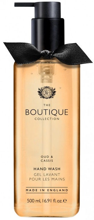 The English Bathing Company Boutique Hand Wash 500ml Oud & Cassis