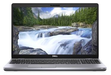 "Nešiojamas kompiuteris Dell Latitude 5510 Grey N007L551015EMEA Intel® Core™ i7, 16GB/512GB, 15.6"""