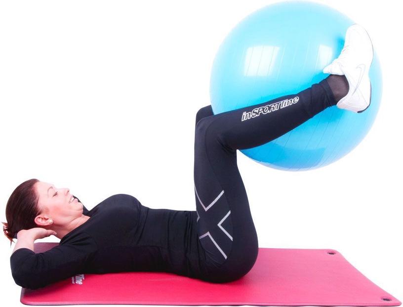 inSPORTline Gymnastics Ball 55cm Blue