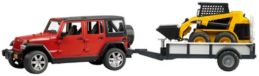 Bruder Jepp Wrangler Unlimited Rubicon Cat Loader 02925