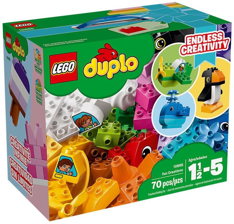 Конструктор LEGO Duplo Fun Creations 10865 10865, 70 шт.