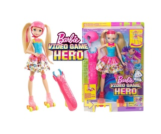Barbie™ Video Game Hero rulluisutaja nuk
