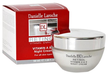 Крем для лица Danielle Laroche Vitamin A & E Retinol Night Cream, 50 мл
