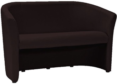 Dīvāns Signal Meble TM-2 Dark Brown, 126 x 60 x 76 cm