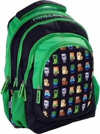 Licenced Minecraft School Backpack Green