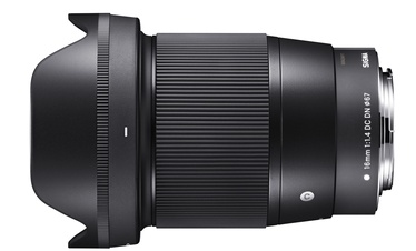 Sigma 16mm f/1.4 DC DN Contemporary For Canon EF-M