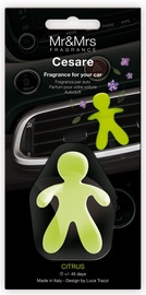 Mr & Mrs Fragrance Cesare Car Air Freshener 1pc Citrus