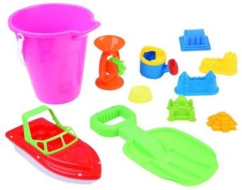 Smilšu kastes rotaļlietu komplekts 2786, daudzkrāsains
