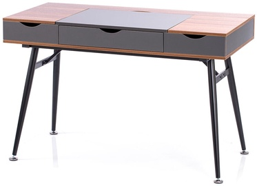 Homede Faryn Desk Walnut/Grey