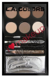 L.A. Colors I Heart Makeup Brow Palette 7ml C30354