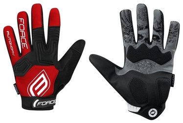 Перчатки Force MTB Autonomy 17 Full Gloves Red/Black M