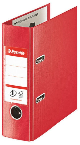 Esselte Lever Arch File No.1 PP 7.5cm Red
