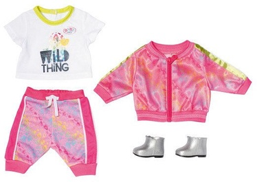Zapf Creation Baby Born Deluxe Trendy Pink Set 828335