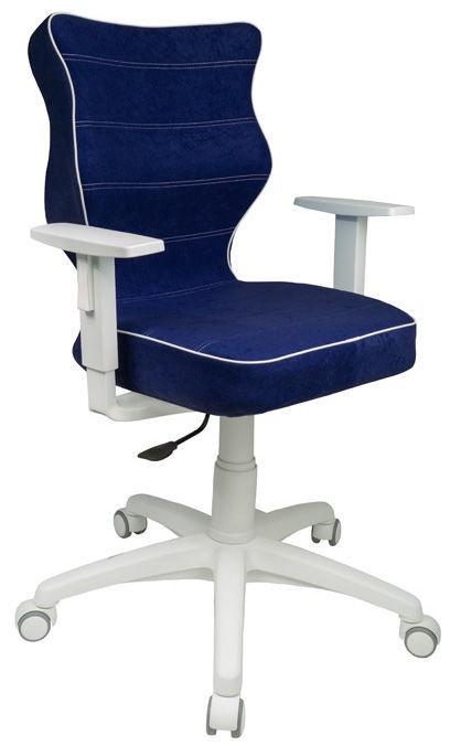 Детский стул Entelo Duo VS06, синий/белый, 370 мм x 1000 мм