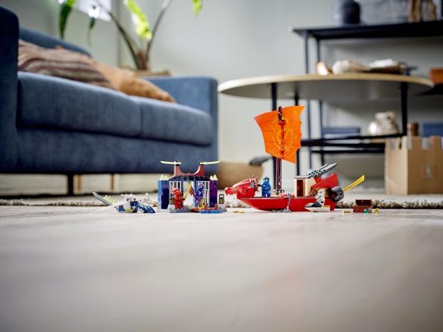 Конструктор LEGO Ninjago Final Flight Of Destinys Bounty 71749, 147 шт.