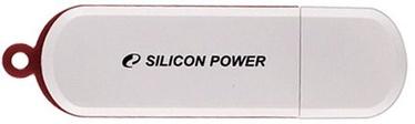 USB atmintinė Silicon Power LuxMini 320 White, USB 2.0, 16 GB