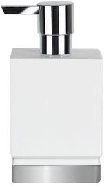 Spirella Soap Dispenser Roma Clay White/Silver