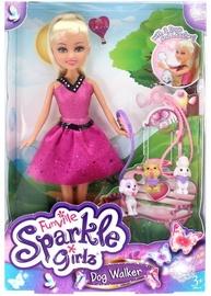 Кукла Sparkle Girlz Dog Walker 24676