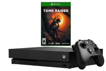 Microsoft Xbox One X 1TB + Shadow Of Tomb Raider