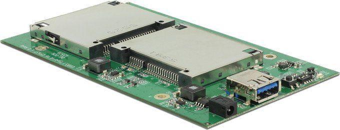 Delock 2 x CFast To USB 3.1 RAID