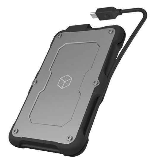 RaidSonic External Enclosure for 2.5'' SATA SSD/HDD