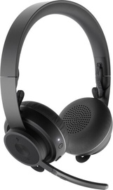 Logitech Zone Wireless On-Ear Headset Black