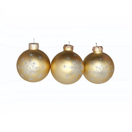 Jõuluehete komplekt Christmas Touch, Ø 6 cm, 6 tk