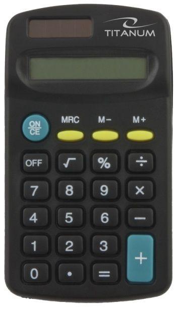 Esperanza Titanium Pocket Calculator Tales TCL101